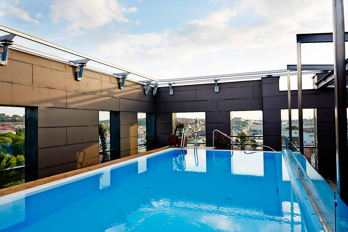 Clarion Hotel Post Rooftop Pool