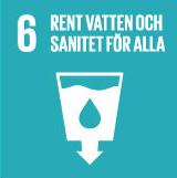 Rent vatten och sanitet för alla – Clarion Hotel Post – Klimatmål – Agenda 2030