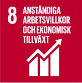 Anständiga arbetsvillkor och ekonomisk tillväxt- Clarion Hotel Post – Klimatmål – Agenda 2030