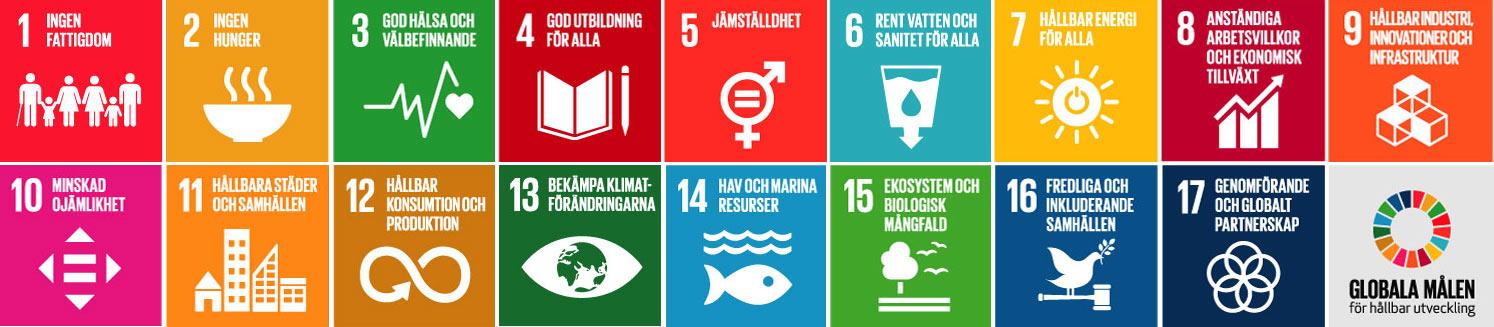 Agenda 2030 våra klimatmål