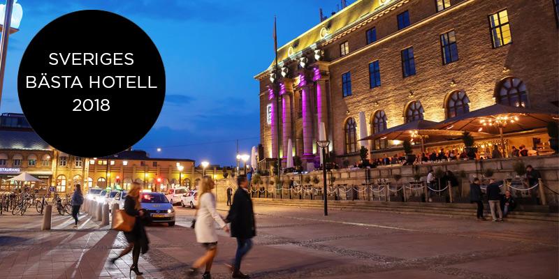 Clarion Hotel Post är Sveriges bästa hotell 2018