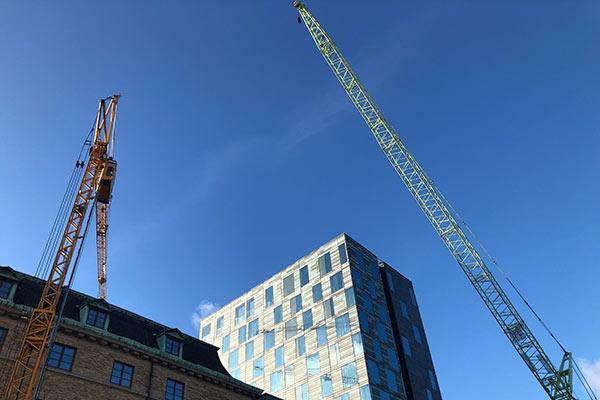 Påbyggnation av 40 nya hotellrum. Klart sommaren 2020