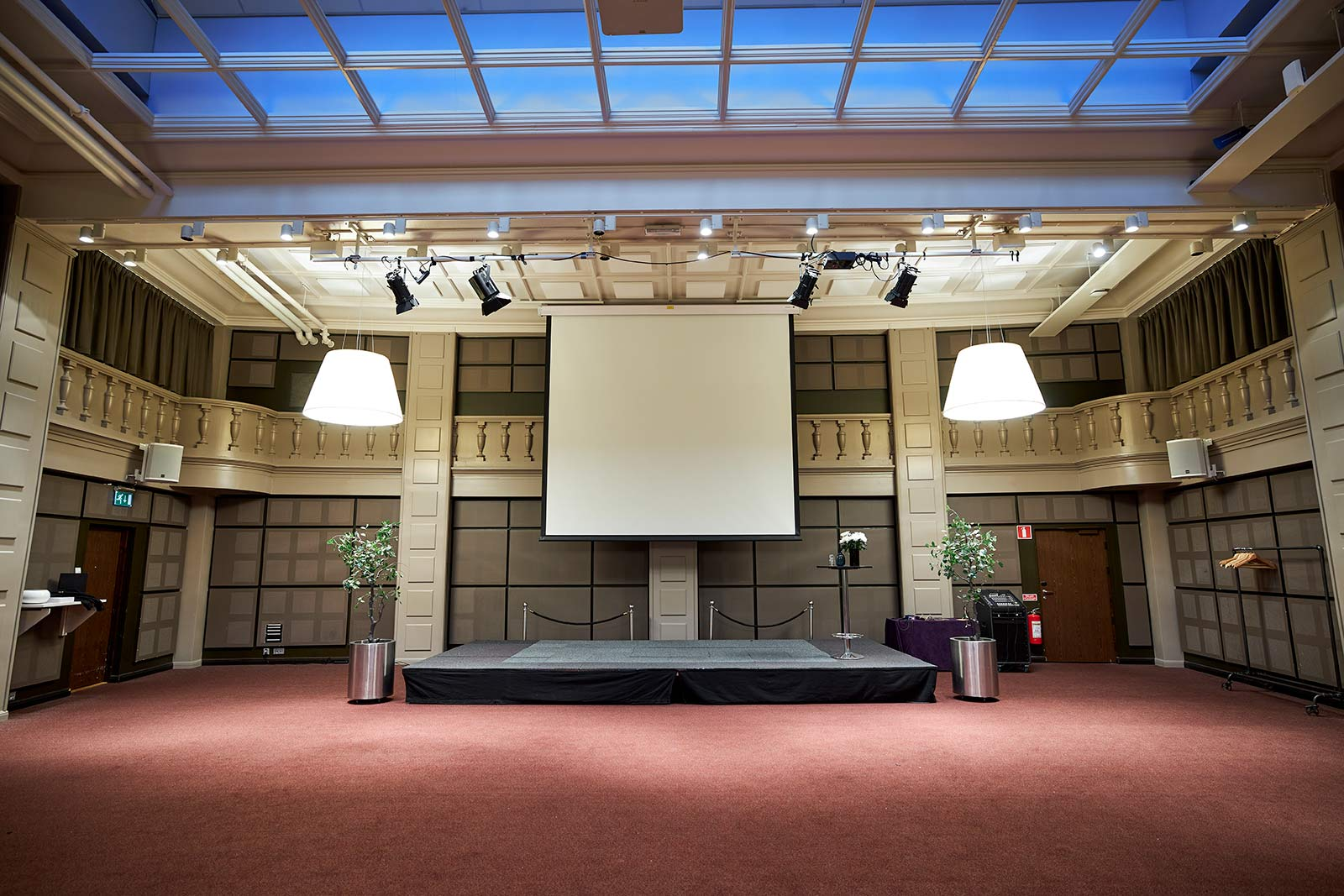 Brevsorterarsalen Konferensrum Clarion Hotel Post